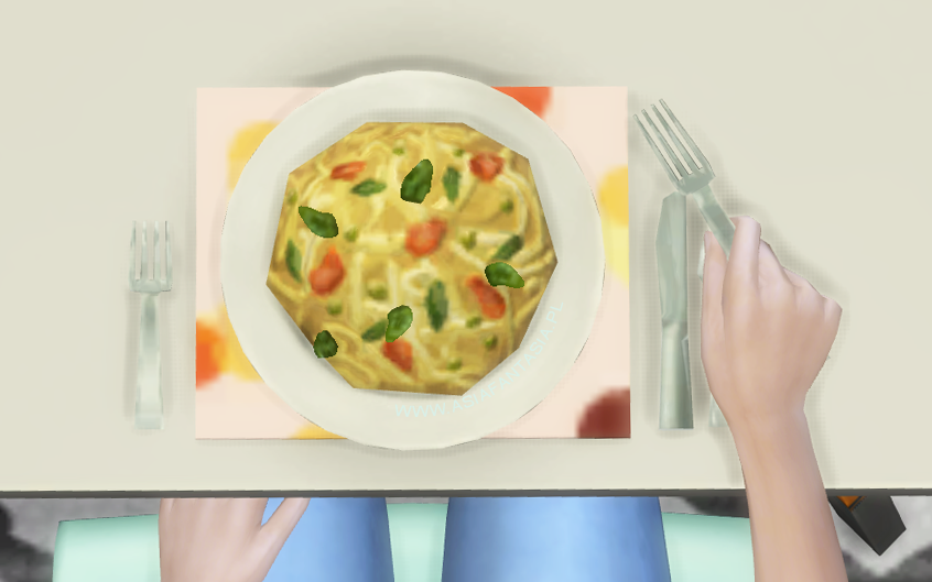 AsiaFantasia - The Sims 4 od kuchni - Pasta Primavera